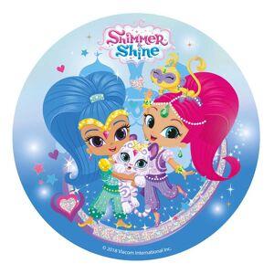 Shimmer & Shine sukkerprint 20 cm.