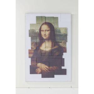 KARE DESIGN Ancient Art Collage billede - klar akryl/multifarvet papir (150x100)