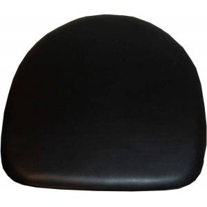 TRADEMARK LIVING sædehynde - ægte sort læder