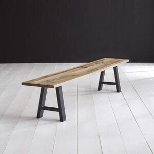 BODAHL Concept 4 You spisebordsbænk - massiv desert egetræ m. Halo ben 240 x 40 cm 6 cm