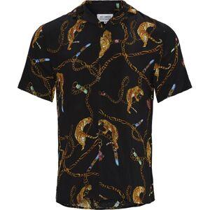 Just Junkies Tiger Shirt Sort