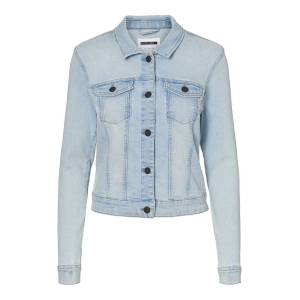 Noisy May DENIM JAKKE Light Blue Denim