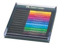 Faber-Castell Artist pen Faber-Castell ass. farver (pakke a 12 stk.)