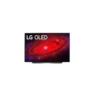LG Electronics LG OLED55CX, 139,7 cm (55), 3840 x 2160 pixel, OLED, Smart TV, Wi-Fi, Sort, Sølv