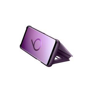 Samsung Clear View Standing Cover EF-ZG960 - Flipomslag til mobiltelefon - violet - for Galaxy S9, S9 Deluxe Edition
