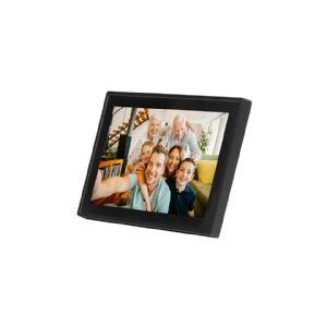 DENVER FRAMEO PFF-1011 - Digital fotoramme - flash 8 GB - 10.1 - 1280 x 800 - sort