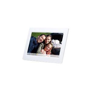 DENVER FRAMEO PFF-1010 - Digital fotoramme - flash 8 GB - 10.1 - 1280 x 800 - hvid