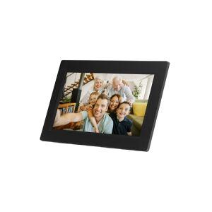 Denver PFF-1010BLACK, 25,6 cm (10.1), 1280 x 800 pixel, IPS, 200 cd/m², JPEG, 8 GB