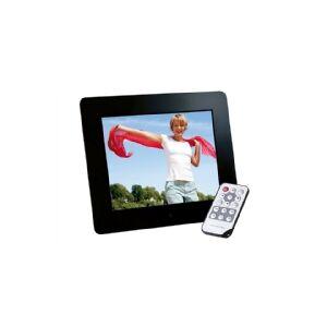 Intenso Photo Base 8, 20,32 cm (8), NB! Engelsk manual! - 800 x 600 pixel, 4:3, 16:9, JPG, Memory Stick (MS), MMC, SD, SDHC, USB 2...