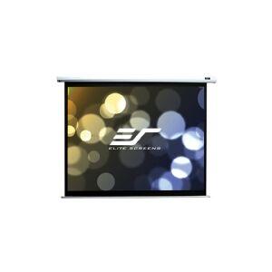 Elite Screens Elite Spectrum Series Electric100V - Projektionsskærm - loftsmonterbar, vægmonterbar - motoriseret - 100 (254 cm) - 4:3 - Matte White - hvid