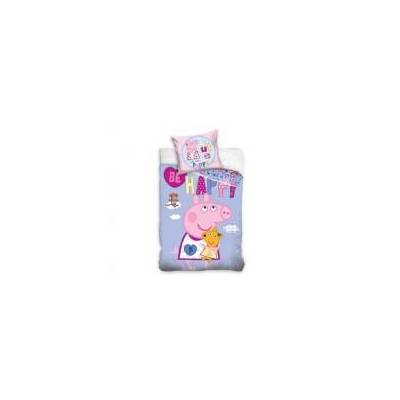 MCU Gurli Gris 'Be Happy' Sengetøj, 100 procent bomuld - Baby Spisetid - MCU