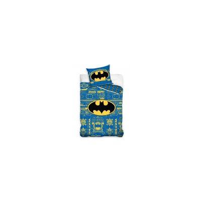 MCU Batman Logo Sengetøj 2i1 design - 100 Procent Bomuld - Baby Spisetid - MCU