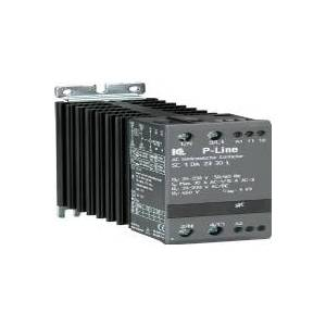 IC ELECTRONIC Elektronisk kontaktor, 400V AC, 10A ved AC1, 3 faset, styrespænding 5-24V DC