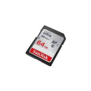 SanDisk Ultra - Flashhukommelseskort - 64 GB - Class 10 - 533x - SDXC UHS-I
