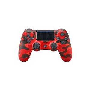 Sony DualShock 4 v2 - Gamepad - trådløs - Bluetooth - rød camouflage - for Sony PlayStation 4
