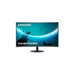 Samsung LC27T550FDU, 68,6 cm (27), 1920 x 1080 pixel, Fuld HD, 4 ms, Blå, Grå