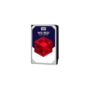 Western Digital WD Red Plus NAS Hard Drive WD80EFAX - Harddisk - 8 TB - intern - 3.5 - SATA 6Gb/s - 5400 rpm - buffer: 256 MB