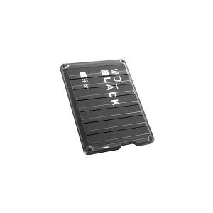 Western Digital WD_BLACK P10 Game Drive WDBA2W0020BBK - Harddisk - 2 TB - ekstern (bærbar) - USB 3.2 Gen 1 - sort