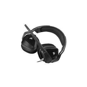 Corsair Microsystems CORSAIR Gaming VOID ELITE STEREO - Headset - fuld størrelse - kabling - 3,5 mm jackstik - kulsort