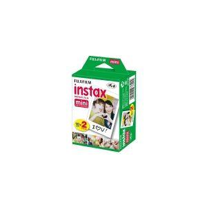 Fujifilm Instax Mini - Farvefilm til umiddelbar billedfremstilling (instant film) - ISO 800 - 10 optagelser - 2 kassetter