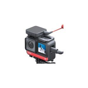 Insta360 ONE R Twin Edition - 360° action-kamera - 4K / 30 fps - 12.0 MP - trådløst netværk, Bluetooth - undervands op til 5 m