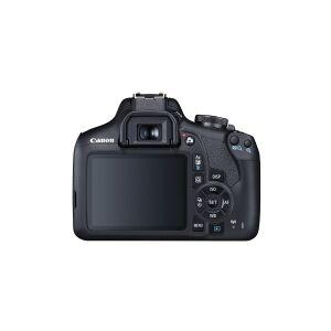 Canon EOS 2000D - Digitalkamera - SLR - 24.1 MP - APS-C - 1080p / 30 fps - kun kamerahus - Wi-Fi, NFC
