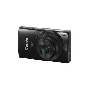 Canon IXUS 190 - Digitalkamera - kompakt - 20.0 MP - 720p / 25 fps - 10x optisk zoom - Wi-Fi, NFC - sort