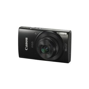 Canon IXUS 190 - Digitalkamera - kompakt - 20.0 MP - 720p / 25 fps - 10x optisk zoom - Wi-Fi, NFC - sort