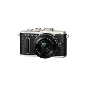 Olympus PEN E-PL8 - Digitalkamera - spejlløst - 16.1 MP - Four Thirds - 1080p / 30 fps - 3x optisk zoom M.Zuiko Digital ED 14-42 mm EZ-objektiv - Wi-Fi - sort