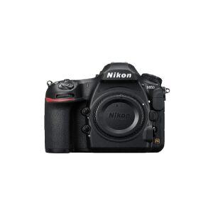 Nikon D850, 45,7 MP, 8256 x 5504 pixel, CMOS, 4K Ultra HD, Touchskærm, Sort