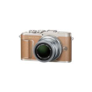 Olympus PEN E-PL9 - Digitalkamera - spejlløst - 16.1 MP - Four Thirds - 4K / 30 fps - 3x optisk zoom M.Zuiko Digital ED 14-42 mm EZ Pancake-objektiv