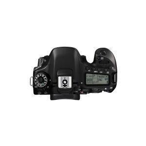 Canon EOS 80D - Digitalkamera - SLR - 24.2 MP - APS-C - 1080p / 60 fps - 3x optisk zoom EF-S 18-55 mm IS STM objektiv - trådløst netværk, NFC