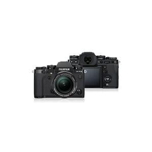 Fujifilm X X-T3 + XF 18-55mm F2.8-4 R LM OIS, 21,6 MP, 6240 x 4160 pixel, CMOS, 4K Ultra HD, 489 g, Sort