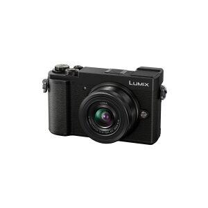 Panasonic Lumix G DC-GX9K - Digitalkamera - spejlløst - 20.3 MP - Four Thirds - 4K / 30 fps - 2.7x optisk zoom 12-32 mm objektiv - Wi-Fi, Bluetooth - sort