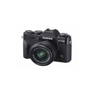 Fujifilm X X-T30 + XC 15-45mm, 26,1 MP, 6240 x 4160 pixel, CMOS, 4K Ultra HD, Touchskærm, Sort
