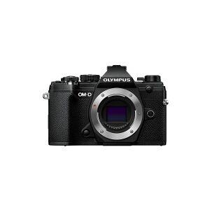 Olympus OM-D E-M5 Mark III - Digitalkamera - spejlløst - 20.4 MP - Four Thirds - 4K / 24 fps - kun kamerahus - Wi-Fi, Bluetooth - sort