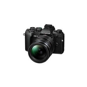 Olympus OM-D E-M5 Mark III - Digitalkamera - spejlløst - 20.4 MP - Four Thirds - 4K / 24 fps - 10.7x optisk zoom M.Zuiko Digital 14 - 150 mm II objek