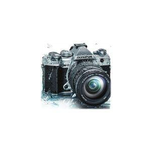 Olympus OM-D E-M5 Mark III - Digitalkamera - spejlløst - 20.4 MP - Four Thirds - 4K / 24 fps - kun kamerahus - Wi-Fi, Bluetooth - sølv