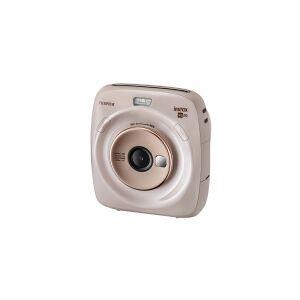 Fujifilm Instax SQUARE SQ20 - Digitalkamera - kompakt med PhotoPrinter - 3.7 MP / 15 fps - beige