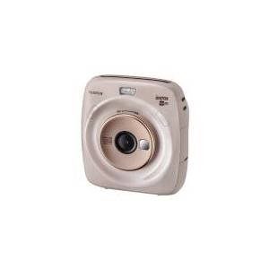 Fujifilm Instax SQUARE SQ20 - Digitalkamera - kompakt med PhotoPrinter - 3.7 MP / 15 fps - beige