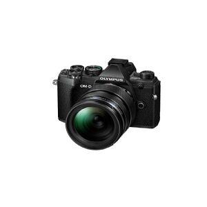Olympus OM-D E-M5 Mark III + 12-40 mm F2.8, 20,4 MP, 5184 x 3888 pixel, Live MOS, 4K Ultra HD, Berøringsskærm, Sort