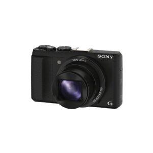 Sony Cyber-shot DSC-HX60 - Digitalkamera - kompakt - 20.4 MP - 30x optisk zoom - Wi-Fi, NFC - sort