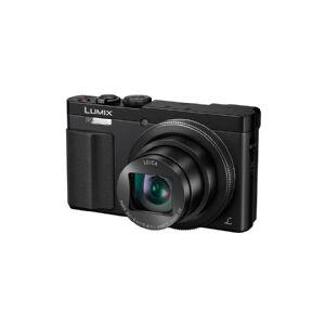 Panasonic Lumix DMC-TZ70 - Digitalkamera - kompakt - 12.1 MP - 30x optisk zoom - Leica - Wi-Fi, NFC - sort