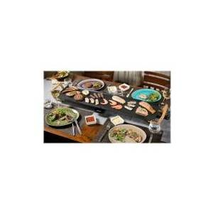Bestron ASIA LOUNGE ABP604BB XXL - Teppanyaki-grill - elektrisk - 2070 cm2