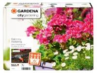 Gardena WATERING SET, Flower Box Watering Kit Set, Contents: Transformer with rotary switch for selection of the watering programme, CE, 14 V low-vol
