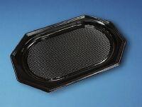 Antalis Cateringfad A-PET sort mellem 450×300×25mm oval 10x10stk/kar - (100 stk.)