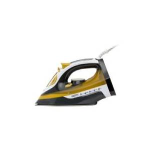 Camry Electronic Camry CR 5029, Dampstrygejern, Sort, Gul, 2400 W, 220-240 V, 50 - 60 Hz, 320 mm