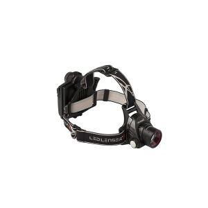 Led Lenser H14R.2, Hovedbånd lommelygte, Sort, Knapper, Dreje, LED, 1 Lampe( r), 1000 lm