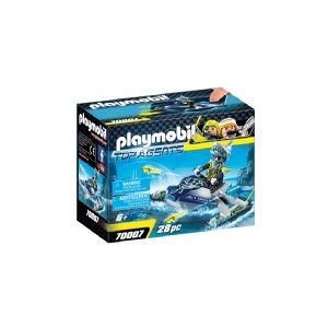 Playmobil Top Agents TEAM S.H.A.R.K. Rocket Rafter, Action/Eventyr, 6 År, Dreng, Flerfarvet, Indendørs, Folk