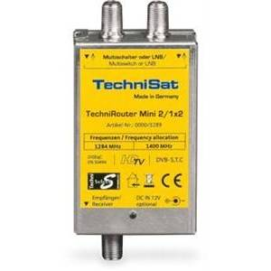 Technisat TechniRouter Mini 2/1x2 satellit multikontakt